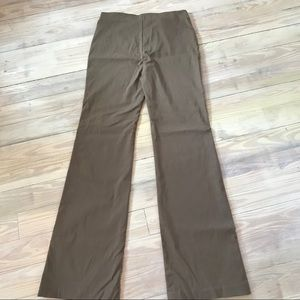 EQUESTRIAN BOOTCUT RIDING PANT TAUPE BROWN